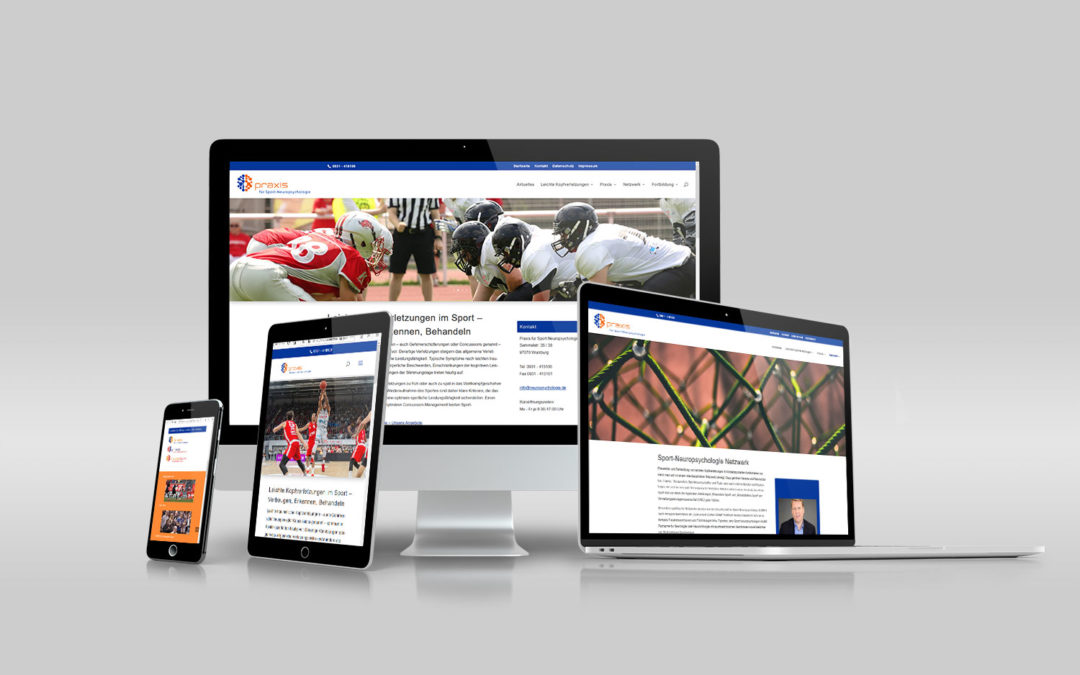 Website Relaunch sportneuropsycholgie.de