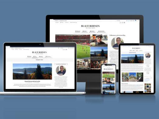 Online Magazin Blaue Bohnen