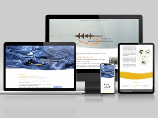 Stiftung und Verein für Neuropsychologie erhalten neue Webseiten