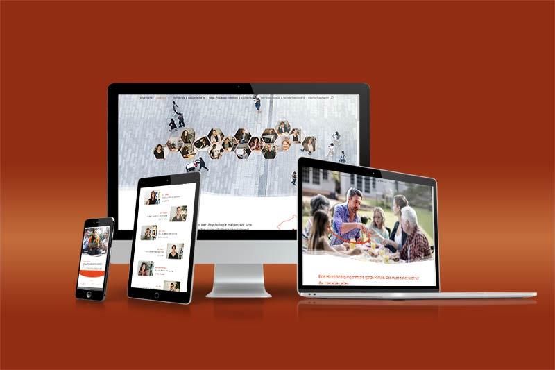 Webentwicklung und Webdesign: responsive